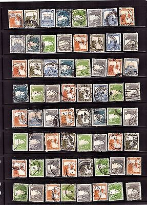 Palestine stamps 110 Stamp set / Collection # 12