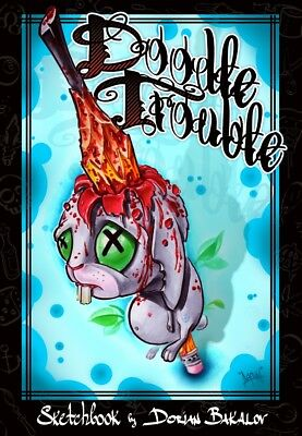 Doodle Trouble - Tattoo art Sketch book by Dorian Bakalov