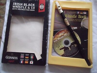 The Irish Tin Penny Whistle GUINNESS, Music Book & CD