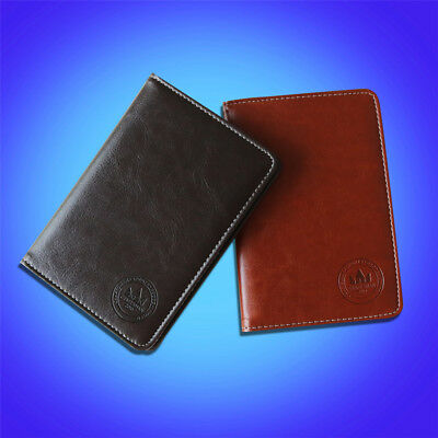 NEW Deluxe PU Leather Craftsman Golf Scorecard Holder For Callaway Taylormade