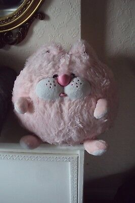 large soft round toy. pink
