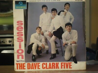 The Dave Clark Five 'Session With'  Vinyl LP 1964 UK 1st Pressing
