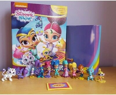 Shimmer and Shine My Busy Book +12 Character Figurines & Playmat