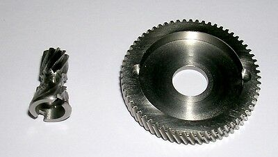 Manfish Stainless Steel Gears 6.3:1 Ultra High Speed Retrieve Fits Abu 5500/6500