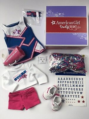 "AMERICAN GIRL 18"" OUTFIT 2-in-1 Cheer Leader Gear for Doll - NEW IN BOX NIB"