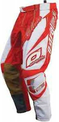 Oneal Hardwear Motocross Trousers Red And White Bmx Mtb Atv Off Road 28 30 32 34