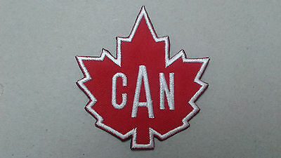 """1 Pc 2-5/8X2-7/8"""" Small Maple Leaf Emb Patch Sew/iron On"""