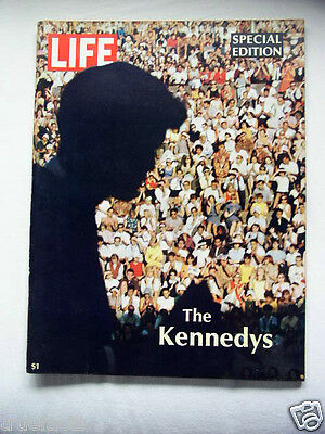 Vintage 1968 LIFE Magazine The Kennedys SPECIAL EDITION - Newsstand Copy 95 page