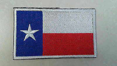 1 pc.TEXAS STATE FLAG EMB PATCH SEW/IRON-ON