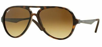 Genuine RAY-BAN 4235 Replacement Lenses - Glass Gradient Brown Multi-Coating