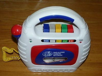 Very Nice Sing A Long Cassette Recorder FUN YEARS Toy