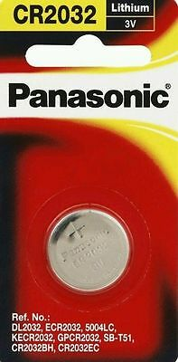 Panasonic Cr2032 Motherboard Bios Cmos Replacement Lithium Battery .