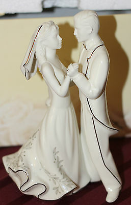 Beautiful Lenox Wedding Cake Topper Wedding Promises First Dance  Look!