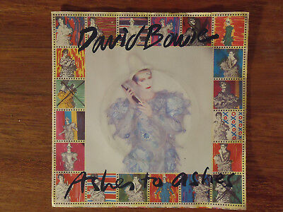 "David Bowie Ashes to Ashes 7"" Single Picture Sleeve"