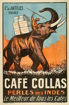 Affiche originale Café Collas 1927