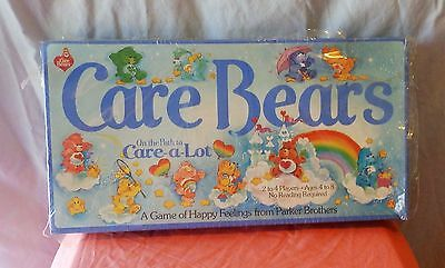 Parker Brothers Care Bears On The Path To Care- A- Lot 1983 Vintage New