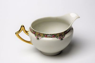 Limoges Elite Works Bawo & Dotter Bwd30 Beautiful Footed  Creamer  Look!!!