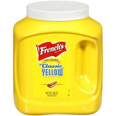 French's Classic Yellow Mustard (2.98 kg)