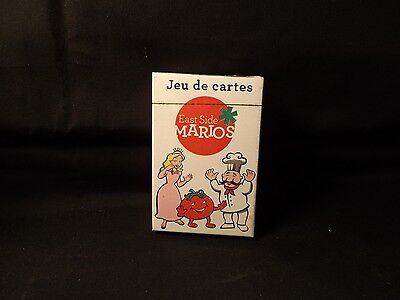 East Side Mario's Deck of Playing Cards Unopened. Still Sealed. Rare Complete