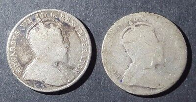 **** 1903 & 1903H Canada Silver 10 Cent (10C) - Dime - Coin Lot(2) ****
