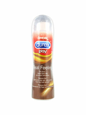 Durex Real Feel Pleasure Gel Intimo 50Ml