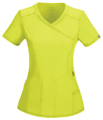 Cherokee Infinity Scrub top 2625A Citrus Antimicrobial and super stretch