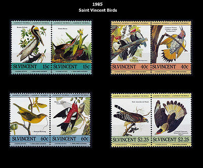 1985 St. Vincent Birds, Fauna, Wildlife, Nature - MNH Set