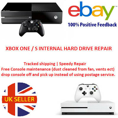 Xbox One Xbox One S 500gb Internal Harddrive Hard Disk Drive Repair Replacement
