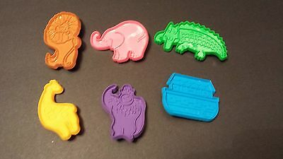 SET OF 6 HUTZLER COOKIE CUTTERS Ark with Animals