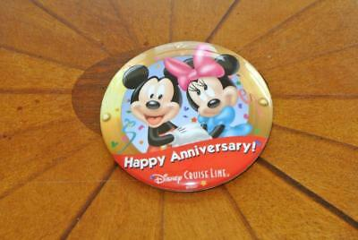 DCL Disney Cruise Line HAPPY ANNIVERSARY BUTTON
