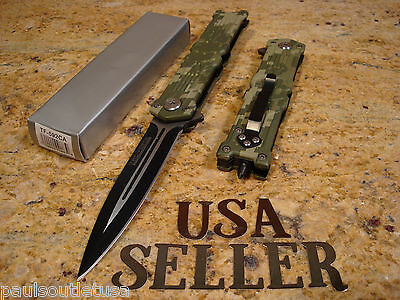 TAC-FORCE SKULL DESIGN SPRING Assisted Opening Tactical Folding Pocket Knife NEW