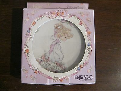 Precious Moments Daughter Plate With Easel 1991 #241695 - Nib