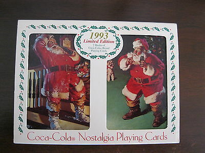 Coca Cola Limited Edition Playing Cards With Tin - 1993
