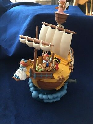 Music Box The Pirate Ship Enesco 1990 It Rocks Back And Forth When Music Played