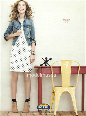 FOSSIL Spring 2013 Fashion & Accessories Catalog HELOISE GUERIN
