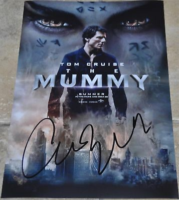 "Annabelle Wallis Signed 12"" x 8"" Colour Photo The Mummy"