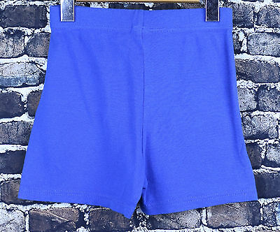 Marvel Avengers Royal Blue Kids Shorts Size 10 Premium Style Solid Color Bottom