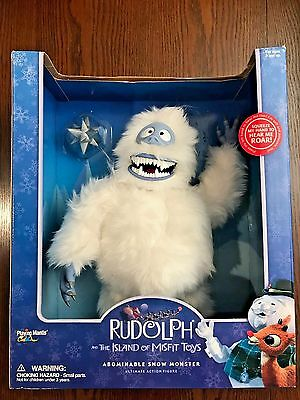 "Rudolph the Red Nosed Reindeer – 16"" Bumble Abominable Snow Monster RARE!"