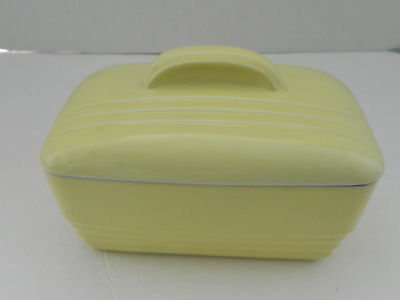 Hall For Westinghouse Yellow Vintage Refrigerator / Baking Covered Dish 5084