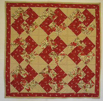 Handmade, Quilted Table Topper, Table Runner, Patchwork,  HMJQuiltsPlus