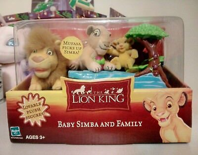 Disneys The Lion King Baby Simba & Family  Brand New Sealed by Hasbro 2002