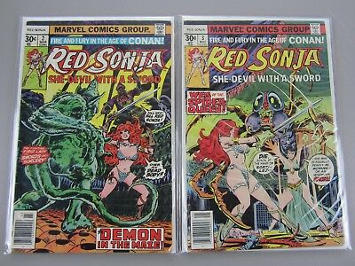 Red Sonja Vol 1 # 2-10, Vol 2 # 1,2, Vol 3 # 2-12  Lot of 15