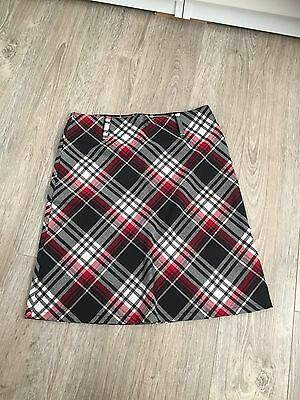 Kid's Girl's The Great American Sportswear Plaid Skirt Size 8
