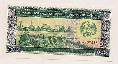 Laos Banknote--Pristine Condition !