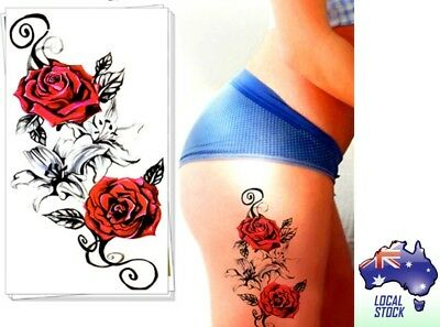 Temporary Tattoo - Roses - Fake Tattoo
