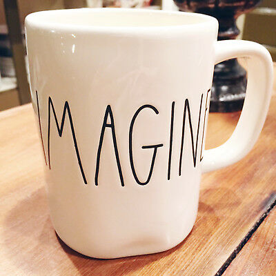 NEW Rae Dunn By Magenta Large Letter BLESSED Mug CAD 12