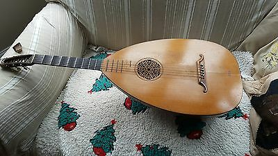 Beautiful Early 1900s Lute Guitar
