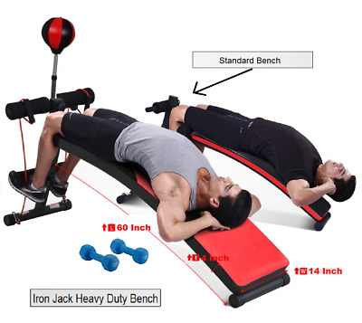 Adjustable Curved Workout Bench Premium High Quality Crunch Ab Bench Slant Board