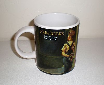 "John Deere Parts & Service Collector Mug ""Children in Front of Store"" by Gibson"