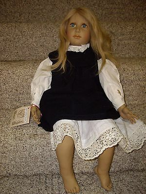 """Classic Children, Vinyl and is a  26"""" Inch Tall Doll."""